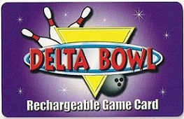 Delta Bowl Game Card
